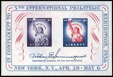 1956 FIPEX Sheet #1075