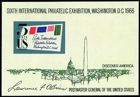 1966 SIPEX Sheet #1311