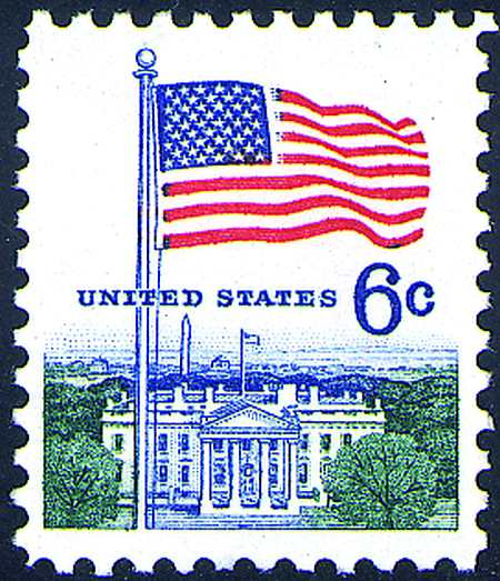 1968-71 Definitives #1338-38G, 1341