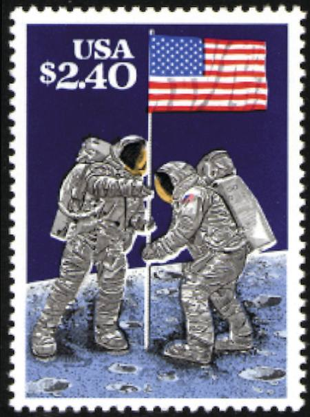 1989 Priority Mail #2419