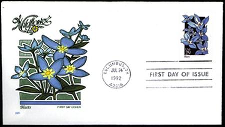 1992 Wildflowers  #2647-96