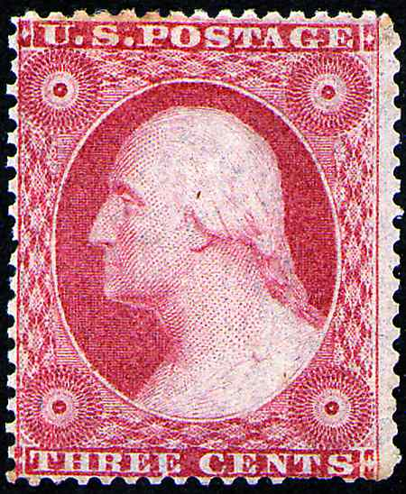 1857-1861 First Perforated Stamps  #18-39