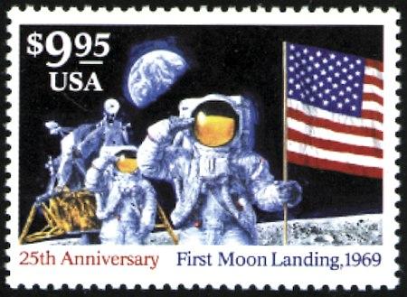 1994 Moon Landing #2841-2842