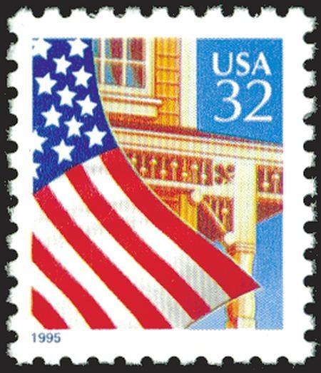 1995-97 Flag Over Porch #2897, 2913-21, 3133