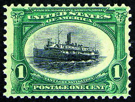 1901 Pan-American Exposition  #294-299