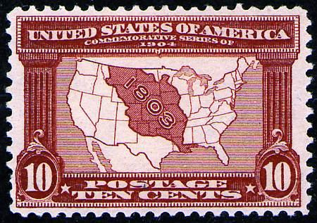 1904 Louisiana Purchase Expo  #323-327