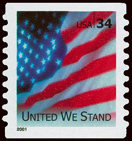 2001 United We Stand #3549-50A