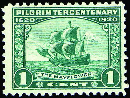 1920 Pilgrim Tercent.  #548-550