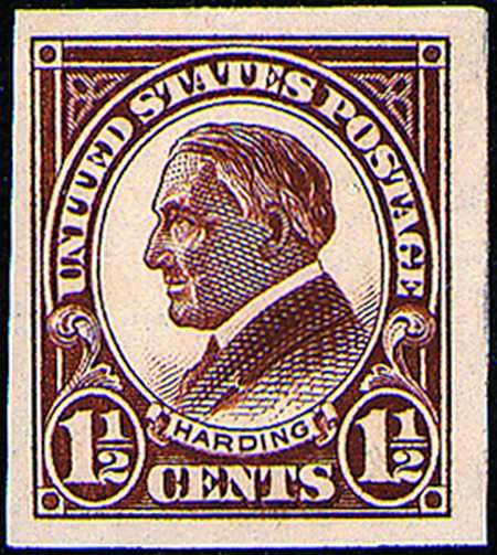 1923-1925 Imperforates  #575-577