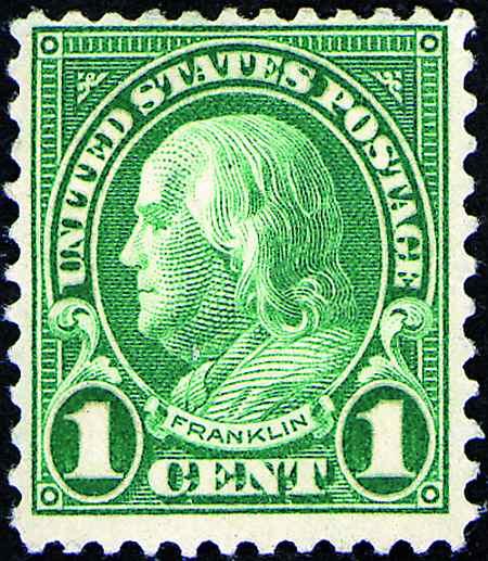 1926-1931 Rotary Press  #632-642