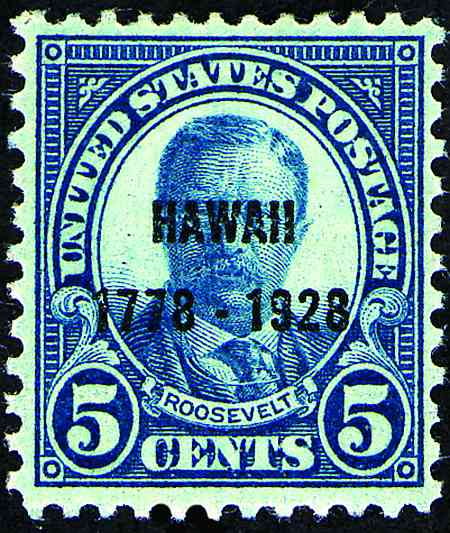 1928 Commemoratives  #645-650