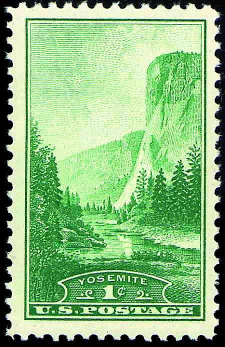 1934 National Parks  #740-749