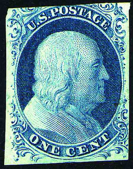 1851-1856 Imperforate Issues  #7-17