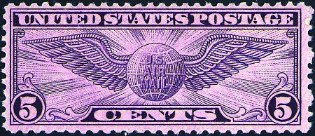 1930-1934 Winged Globes  #C12, C16-17, C19