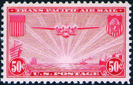 1935-1937 China Clippers  #C20-C22
