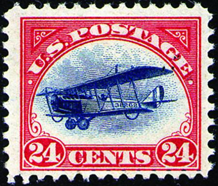 1918 First Airmail Issues  #C1-C3