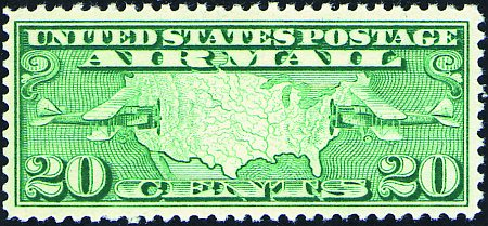 1926-1927 Airmail Issues  #C7-C9