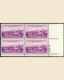 #773 - 3¢ California: Plate Block