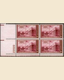 # 944 - 3¢ Kearny Expedition: plate block