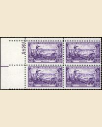 #1003 - 3¢ Battle of Brooklyn: plate block