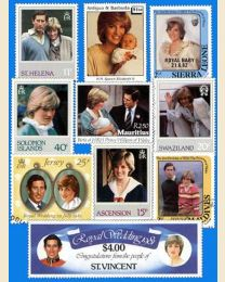 100 Princess Diana - British Commonwealth Only