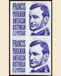 Francis Parkman Imperforate Error
