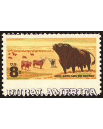 US #1504 8¢ Angus Cattle