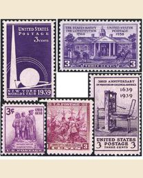 1938-1939 Year - Set of 11