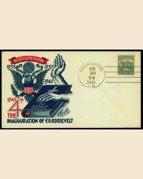 1945 Franklin D. Roosevelt Inaugural Cover