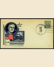 1945 Harry S Truman Inaugural Cover