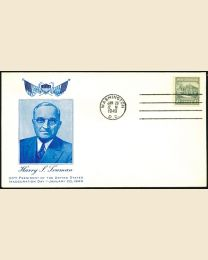 1949 Harry S Truman Inaugural Cover
