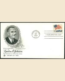1965 Lyndon B. Johnson Inaugural Cover