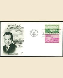 1969 Richard M. Nixon Inaugural Cover