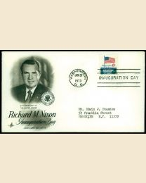1973 Richard M. Nixon Inaugural Cover