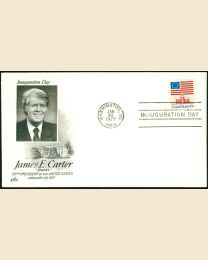 1977 James E. Carter Inaugural Cover