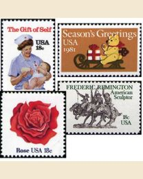 #1981Y - 1981  42 stamps
