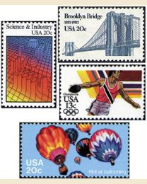 #1983Y - 1983  35 stamps
