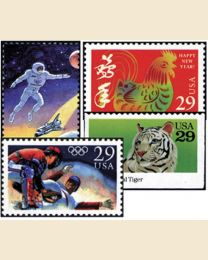 #1992Y - 1992  53 stamps