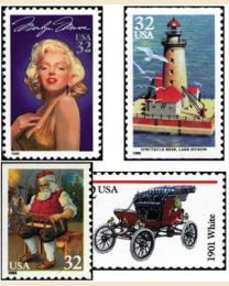 #1995Y - 1995  75 stamps