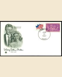 1997 William J. Clinton Inaugural Cover