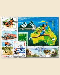 Cuba Stamp Embargo Lifted