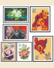 #2004Y - Set of 40 stamps
