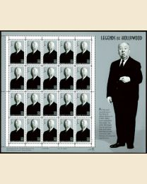 #3226S- 32¢ Alfred Hitchcock: Mint