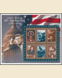 JFK 40th Ann Sheet/6