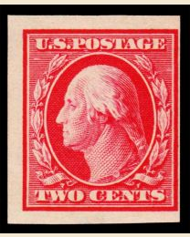 1910 Imperforate 2¢ Washington