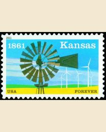#4493 - (44¢) Kansas Statehood