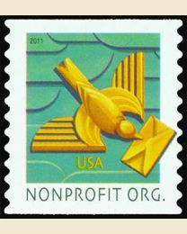 #4495 - (5¢) Art Deco Bird