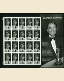 #4526S- (44¢) Gregory Peck: Mint