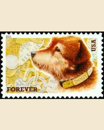 #4547 - (44¢) Owney the Postal Dog