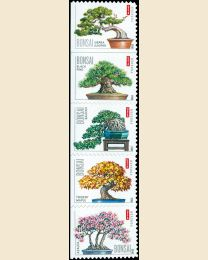 #4618S- (45¢) Bonsai Trees